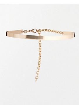 Metal belt - Fine golden