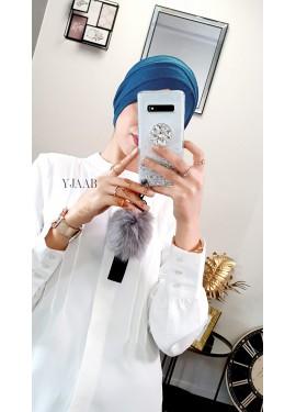 Slip-on Turban -Intense blue