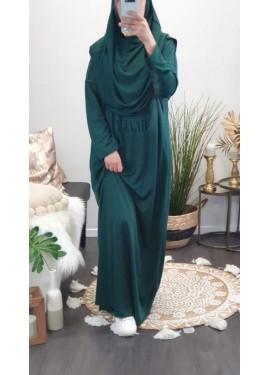Integrated hijab prayer...