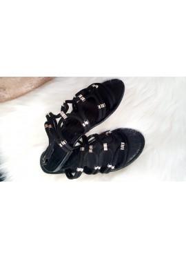Sandale Elissa - Noire