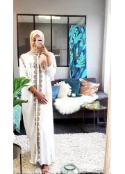 Abaya inspiration orient - White
