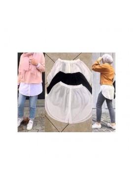 Bas de chemise - Blanc