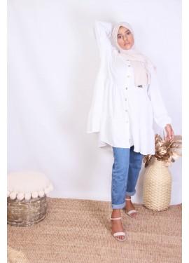 Tunic  Hasna - white