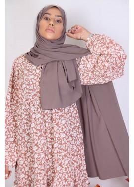 Hijab soie de medine - Dark...