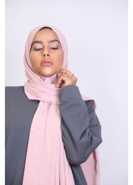 Medina Seide Hijab - Hell-Pink