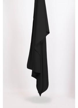 Hijab soie de medine - Black