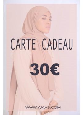 30 € Geschenkkarte