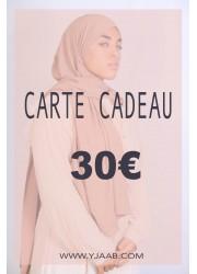 30 € gift card