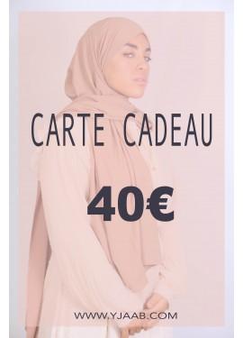 40 € Geschenkkarte