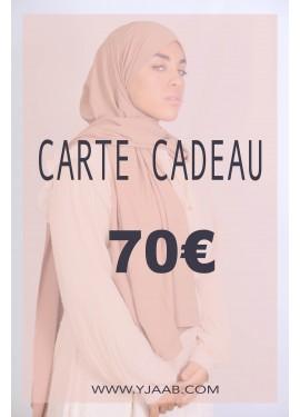 70 € Geschenkkarte