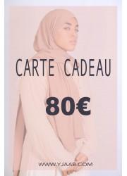 80 € gift card