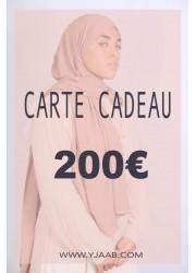 200 € gift card