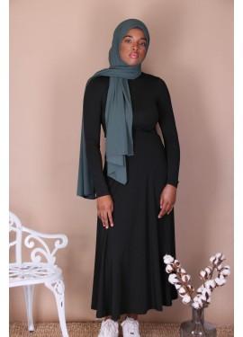 Viscose skirt - Black