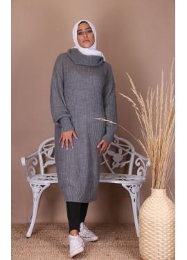 Turtleneck sweater - Dark grey