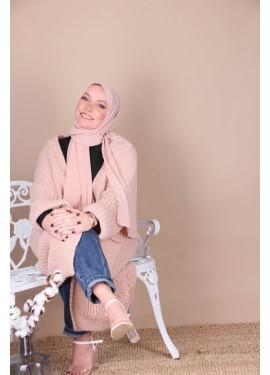 Crepe hijab - Pink