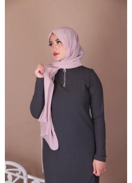 Crepe hijab - Mauve
