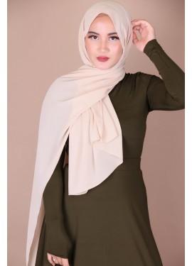 Crepe hijab - Beige