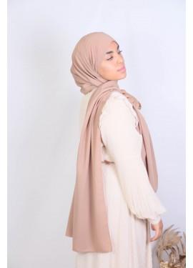 Hijab soie de medine - Camel