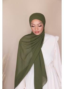 copy of Hijab croisée à...