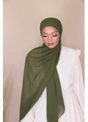 copy of Hijab croisée à enfiler - Taupe