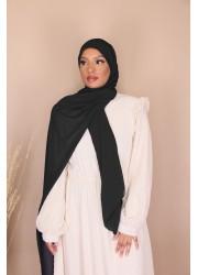 Hijab croisée à enfiler - Black
