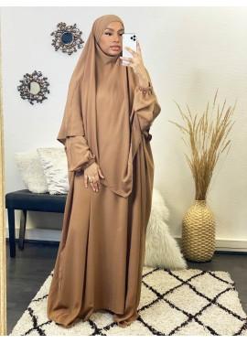 Khalij abaya- Camel