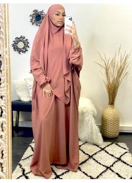 Abaya Khalij - Rose des bois