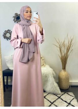 Abaya Médine - Pink