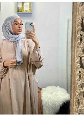 Pull-on Jersey Hijab - Grey