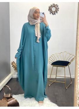 Abaya Sourour 140 cm - Green