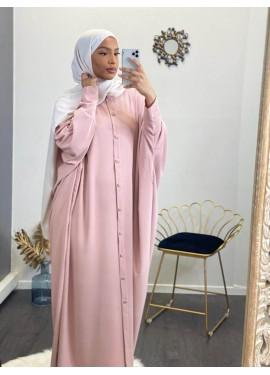 Abaya Sourour - Pink