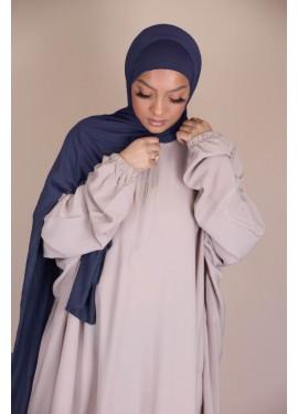 Pull-on Jersey Hijab - Dark...