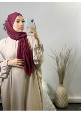 Hijab croisée à enfiler...
