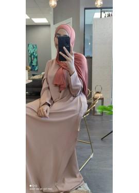Pull-on Jersey Hijab - wood...