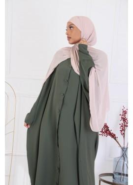 Abaya Sourour 140 cm - Kaki