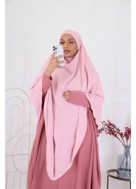 Khimar Jazz - Light pink