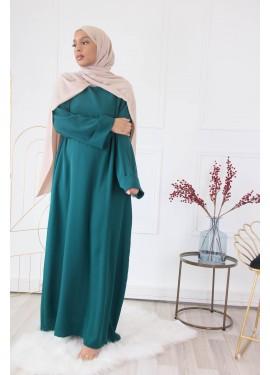 Abaya Aliayh - Emerald green