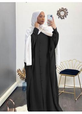 Abaya Sourour 150 cm- schwarz