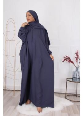 Khalij abaya- Dark blue