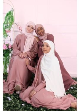 Abaya HAWA - Plum