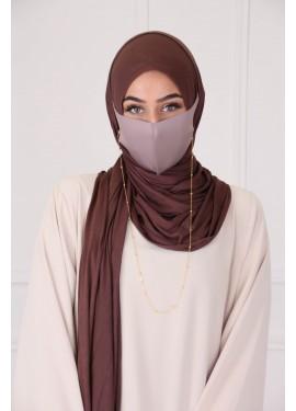 Hijab ACCESS - Marron