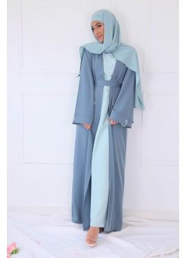Kimono strass - Blue