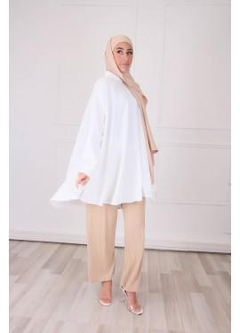 Oversized shirt - White