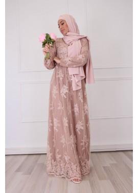 Lace Dress - NEUTRAL