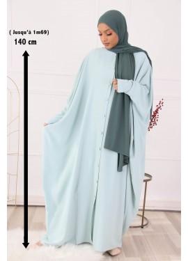 Abaya Sourour 140 cm- Vert...