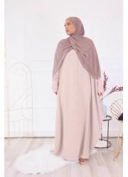 Abaya Sourour 140cm - Beige