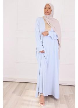 Abaya Orient - pastel blue