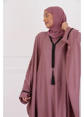 Abaya SAFSAF - plum