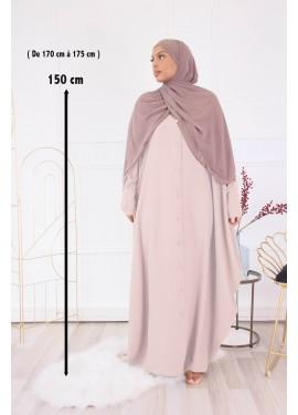 Abaya Sourour 150cm- Beige...