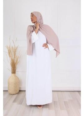 Abaya Aliayh - white